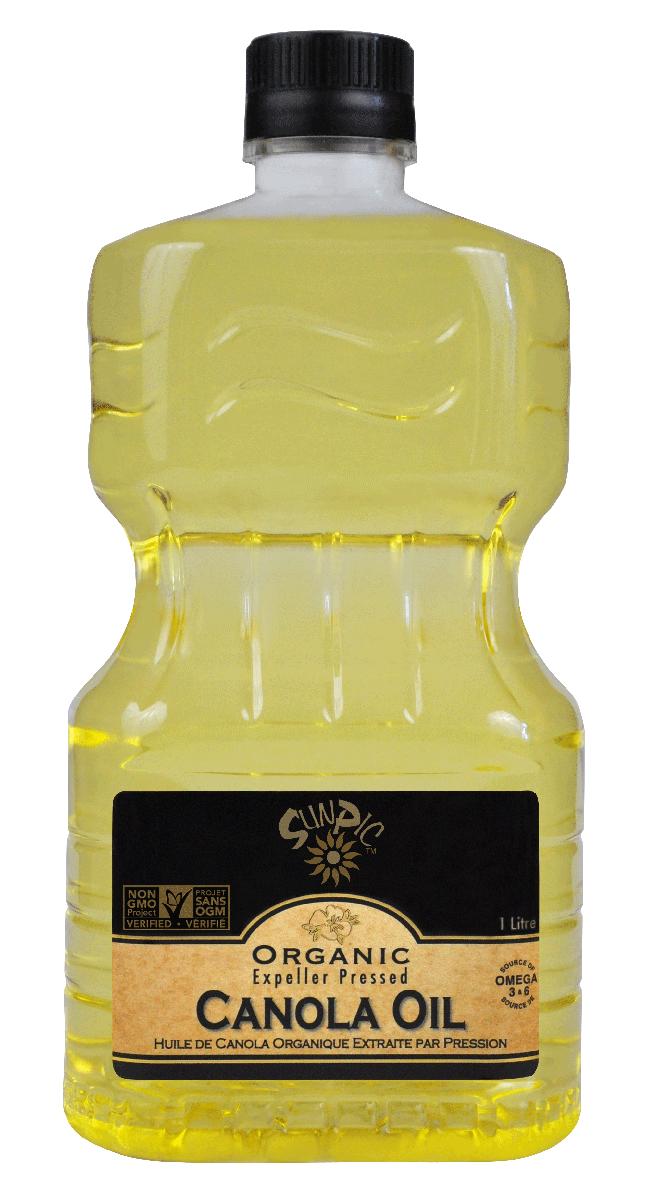 SUNPIC ORGANIC 1lt front Canola
